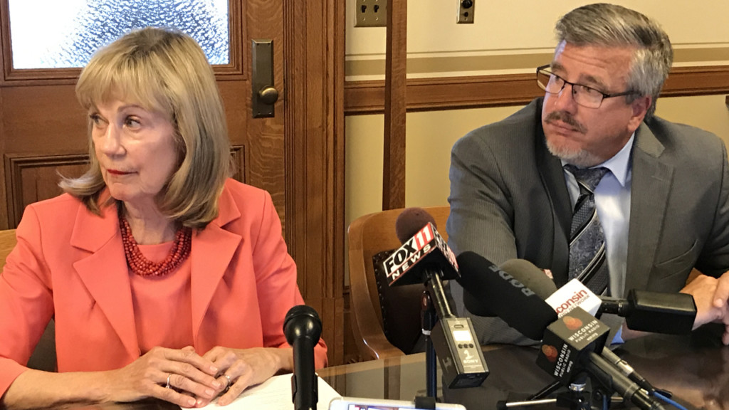 GOP plan would cut income taxes an average of $75, compared to $216 under Evers' proposal