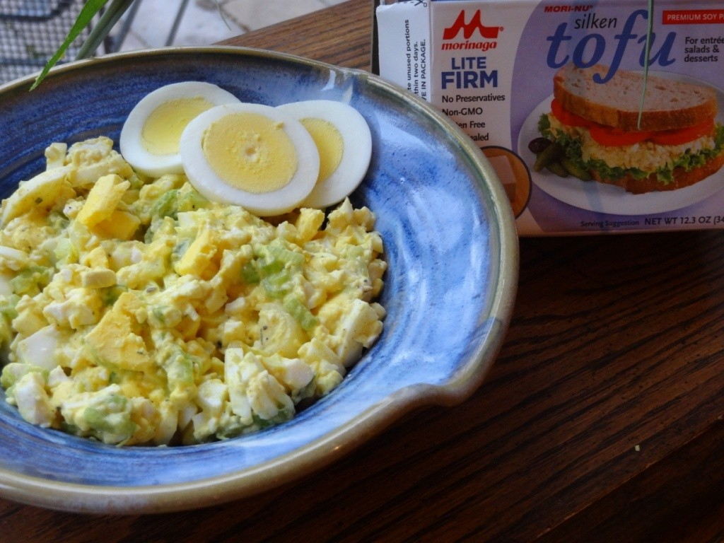 Donna's almost eggless egg salad