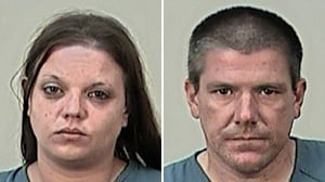 Couple suspected in drunken hit-and-run crash