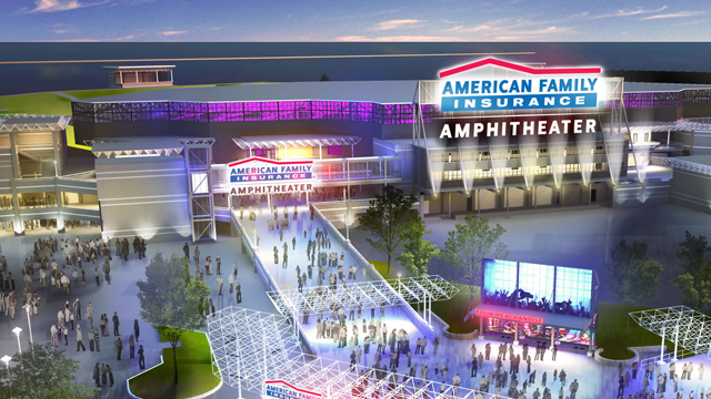 Summerfest amphitheater construction underway, expected grand opening in 2020 festival