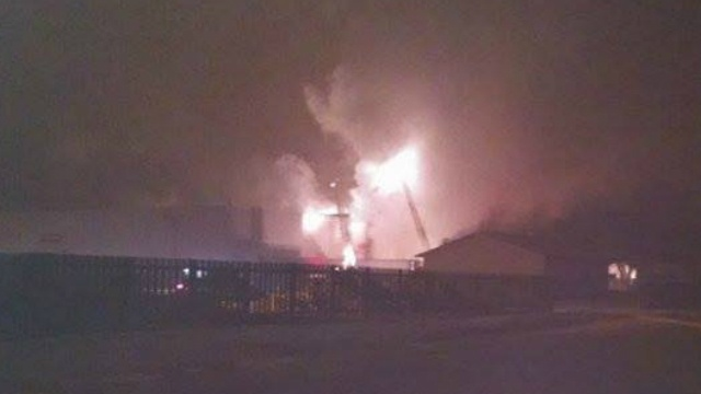 Fire breaks out at Portage cheese packaging plant