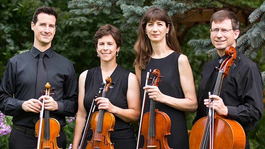 Ancora String Quartet goes out for Italian