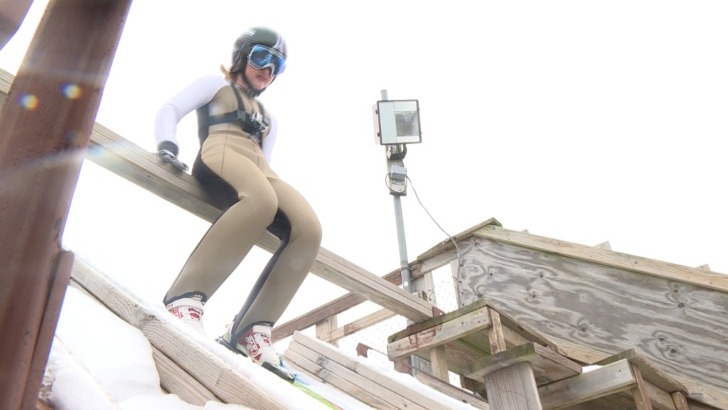 International champion ski jumper opens up about anxiety struggles and successes