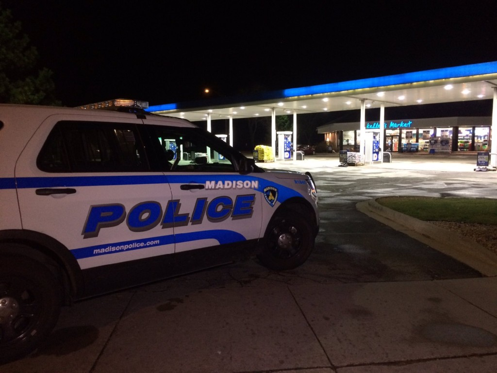 Madison police investigate armed robbery outside Kelly's Market