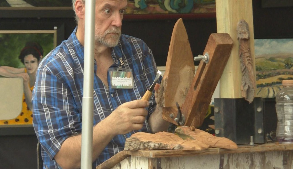 Spring Green Arts & Crafts Fair marks 50th anniversary, closes unexpectedly for thunderstorm