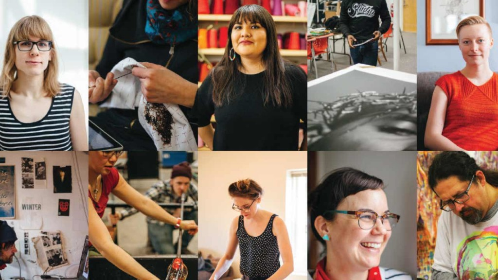 Community-based art space provides more than 200 programs for emerging artists
