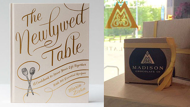 "Meet ""The Newlywed Table"" author at Madison Chocolate Co. this week"