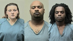 Three arrested in armed robbery case in town of Berry