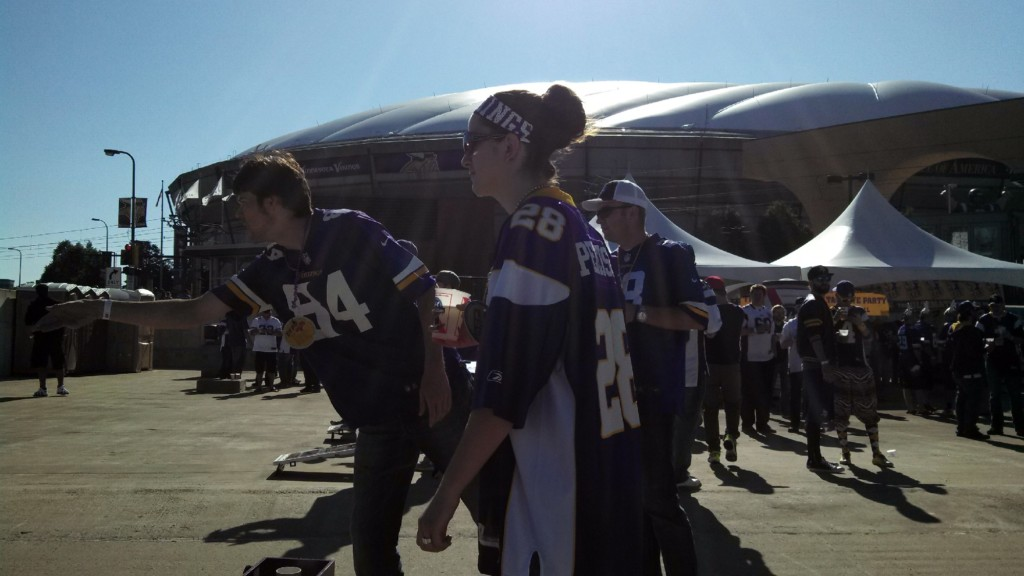 More than 1 loss at the Metrodome