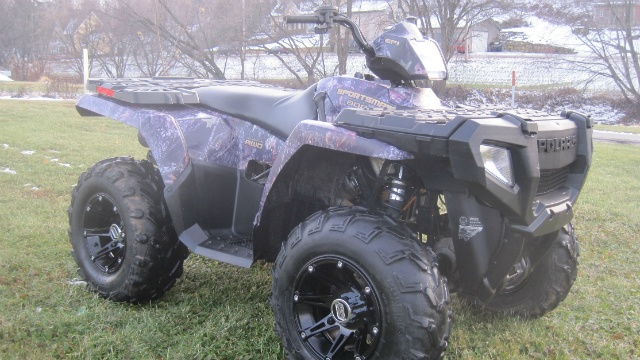 Police investigate theft of 4 ATVs from business