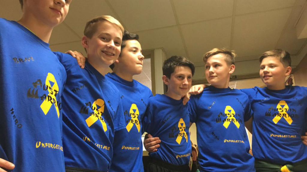 Milton Middle School remembers classmate who passed away from cancer