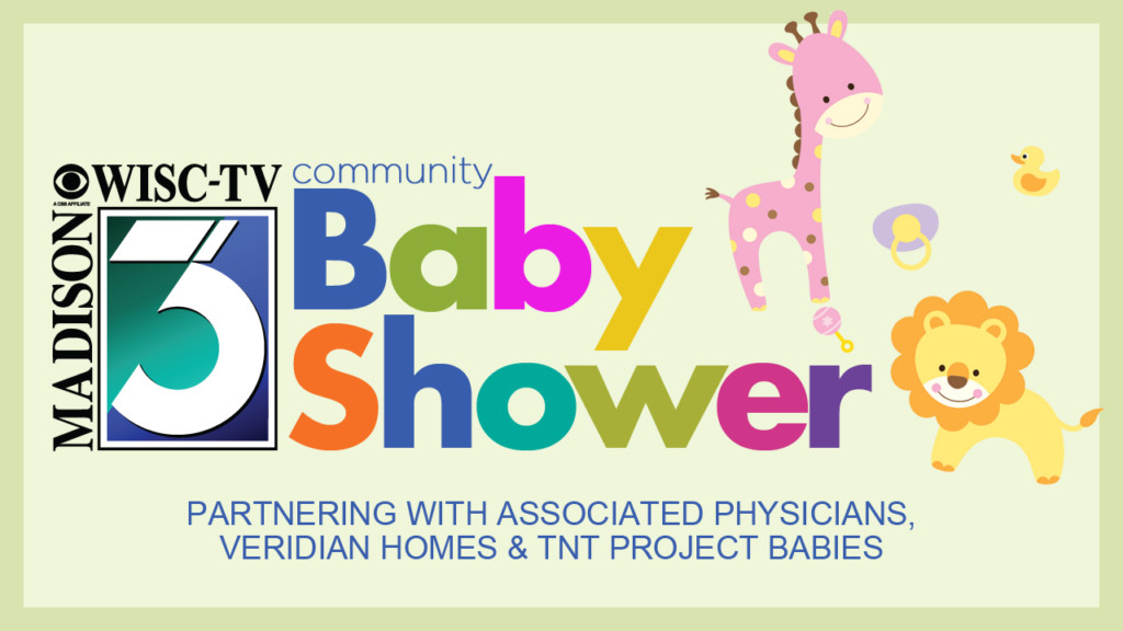 Donate baby essentials at 2018 Community Baby Shower