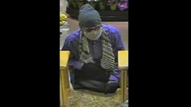 Police share bank robbery surveillance photos