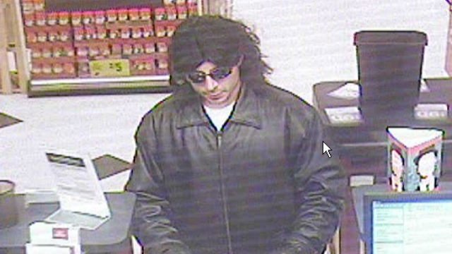 Man in wig, sunglasses robs Guaranty Bank