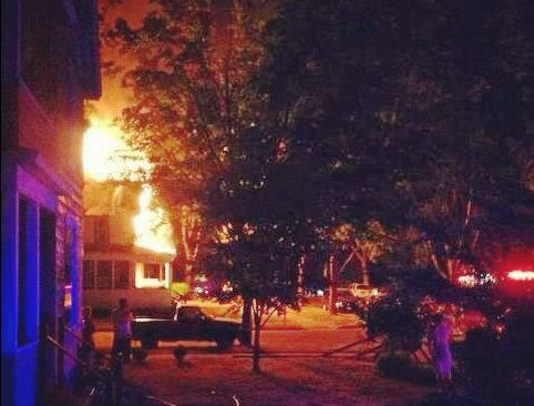 2 men credited with saving neighbors from fire