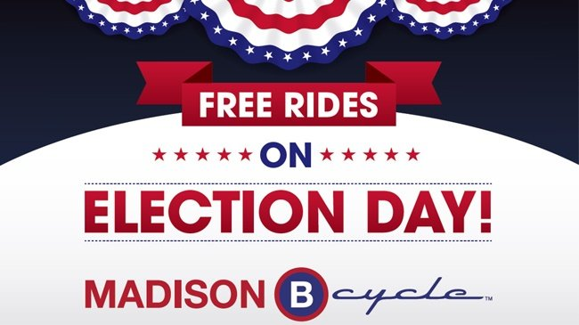 Bike to the ballot
