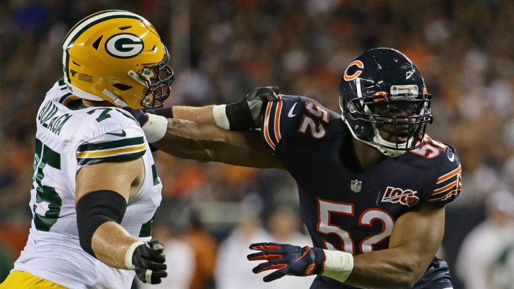 Packers grind out 10-3 win over Bears