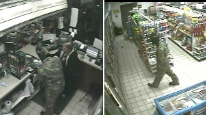 Man robs gas station at knife point