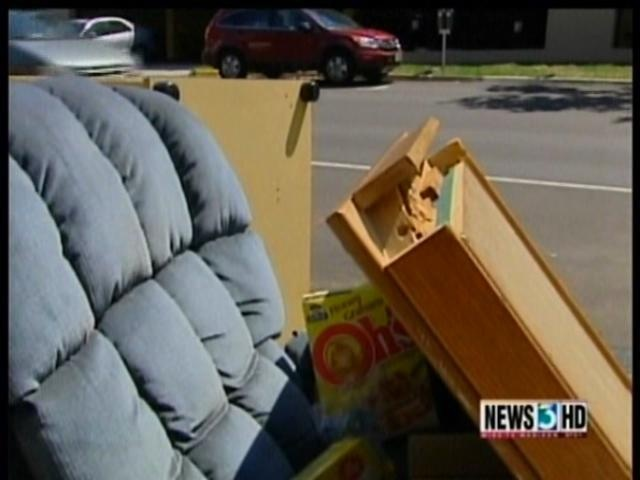 City: Movers should take furniture, electronics to donation sites
