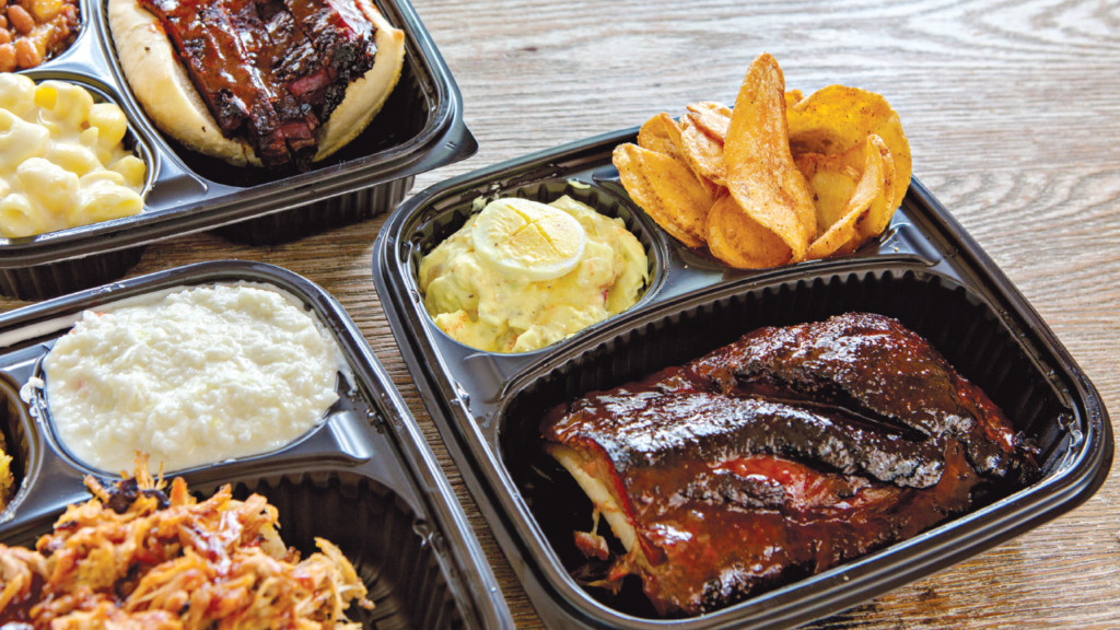beef butter barbecue takeout