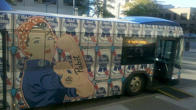 Beer ads on Metro buses prompt policy changes