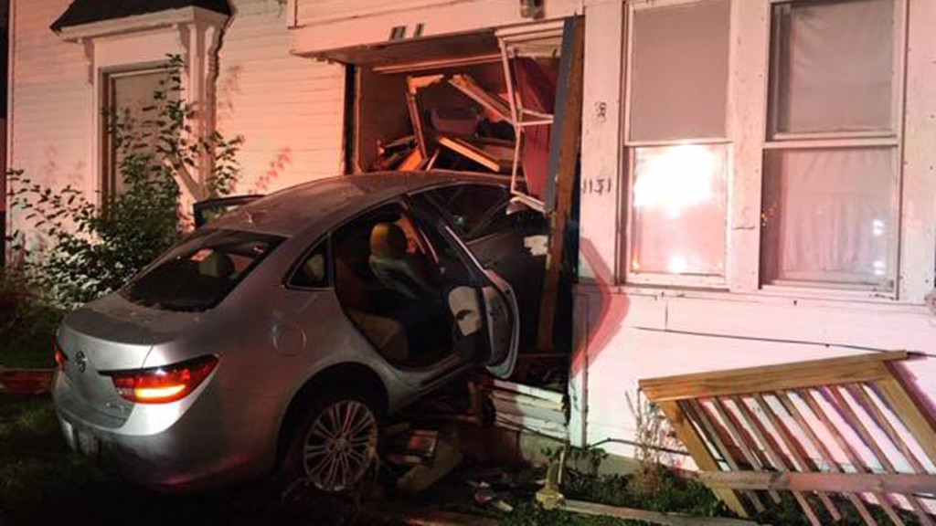 Four people displaced after drunken driver crashes into house, police say