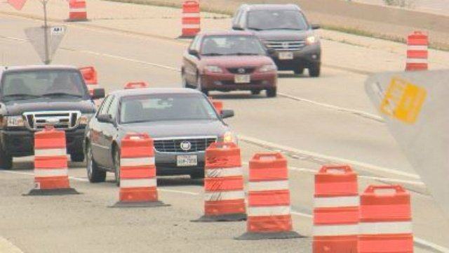 DOT: Beltline lane shift expected to last until 2016