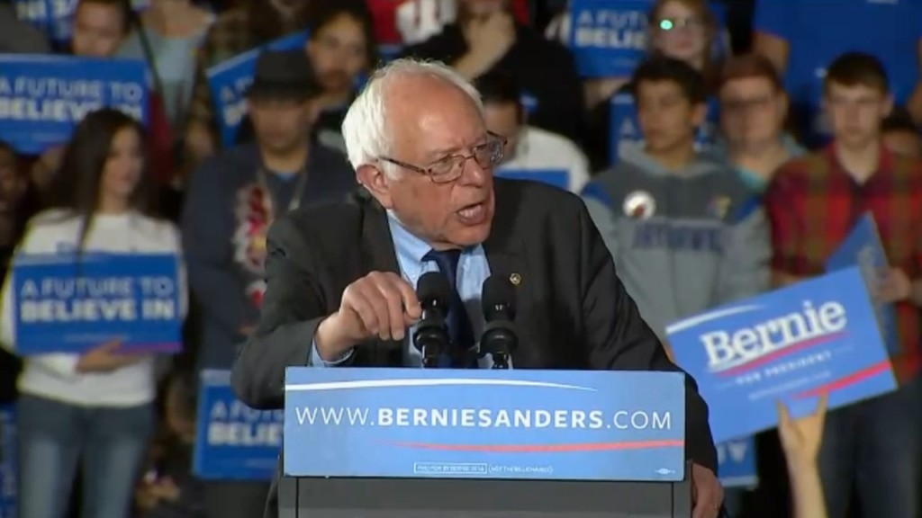 Sanders on eve of WI primary champions labor