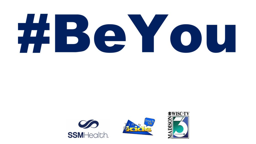Model self acceptance, encourage a child to #BeYou