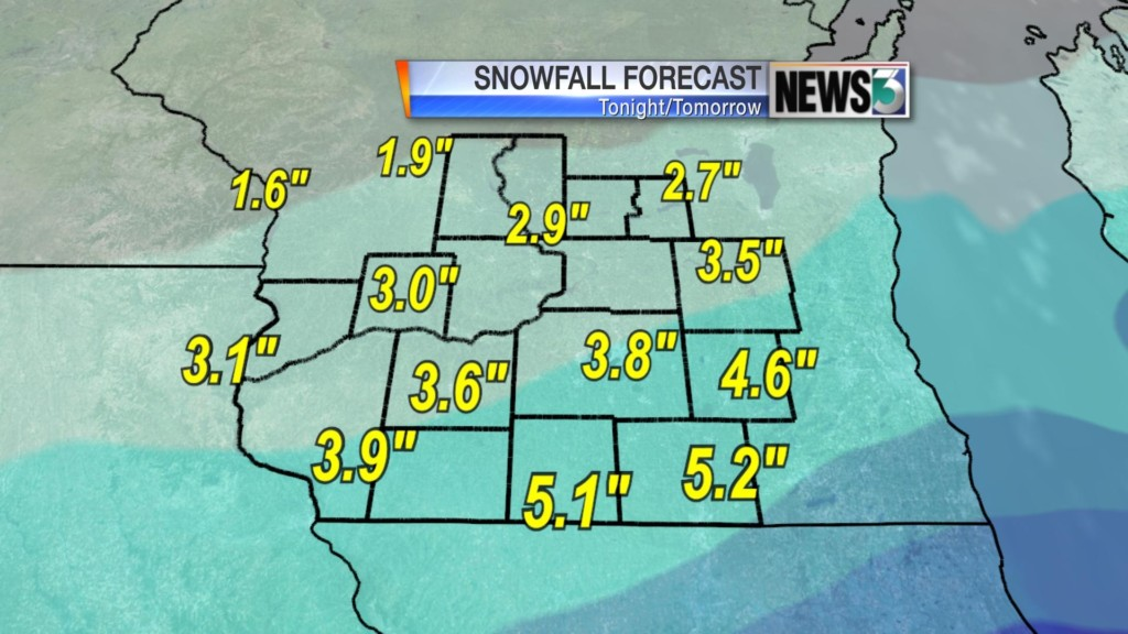 More snow expected Friday night, Saturday