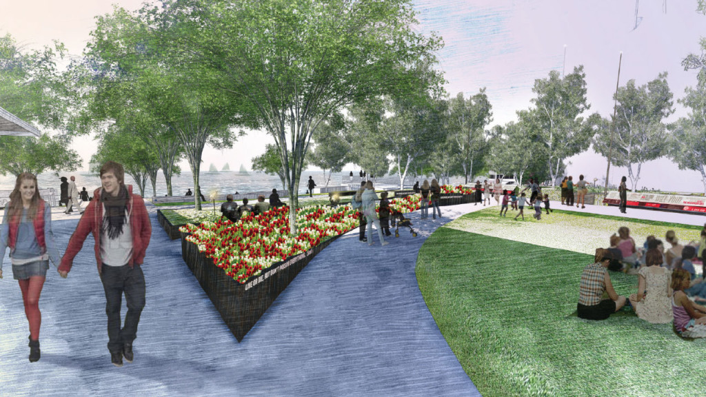 Alumni Park opens this fall