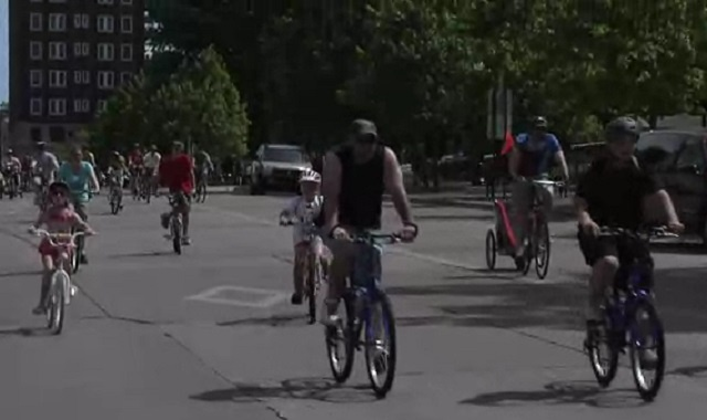 Downtown roads will be closed Sunday for bike event