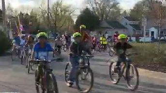 Bikers gather for Madtown Unity Bike Ride.
