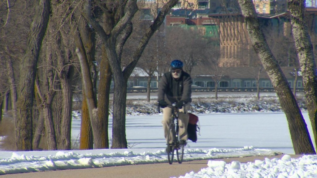 'Winter Bike Week' encourages cyclists to ride during winter months