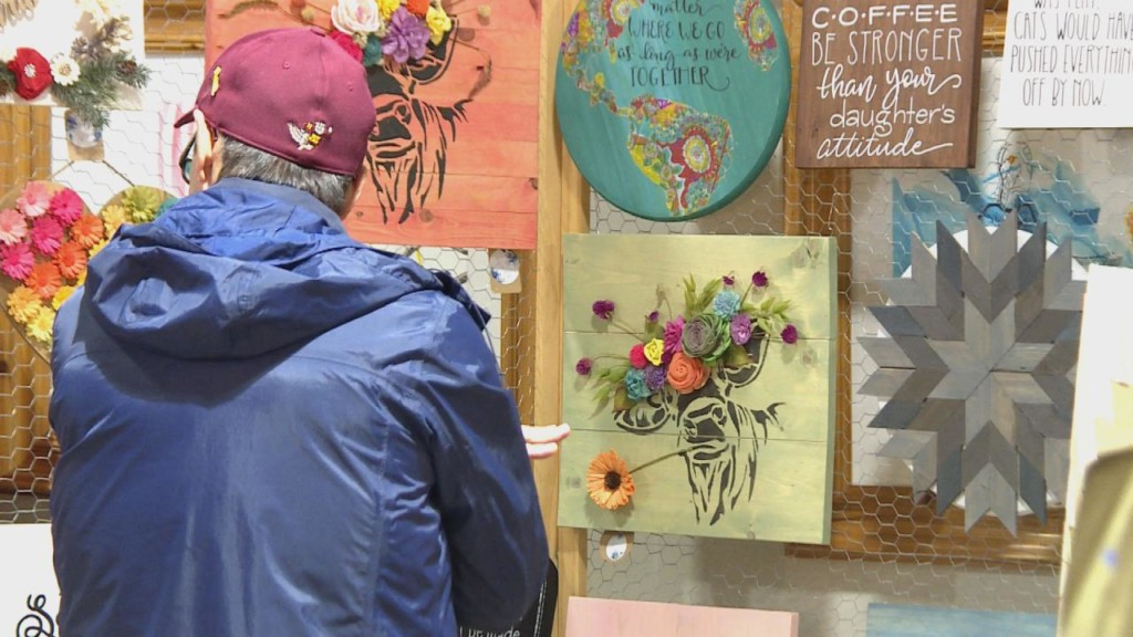 Market promotes local businesses instead of 'big-box stores'