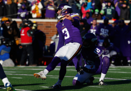 Vikings keep struggling Walsh after working out kickers