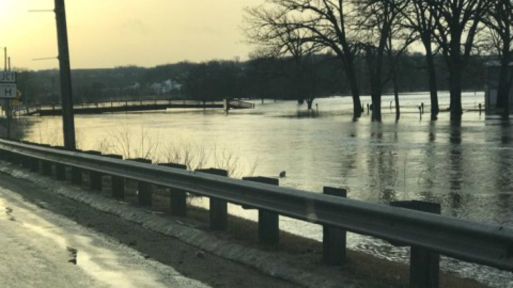 LIST: Highway closures due to flooding, high water in multiple counties