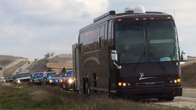 Police: Pot seized in roadside drug investigation on rap tour bus