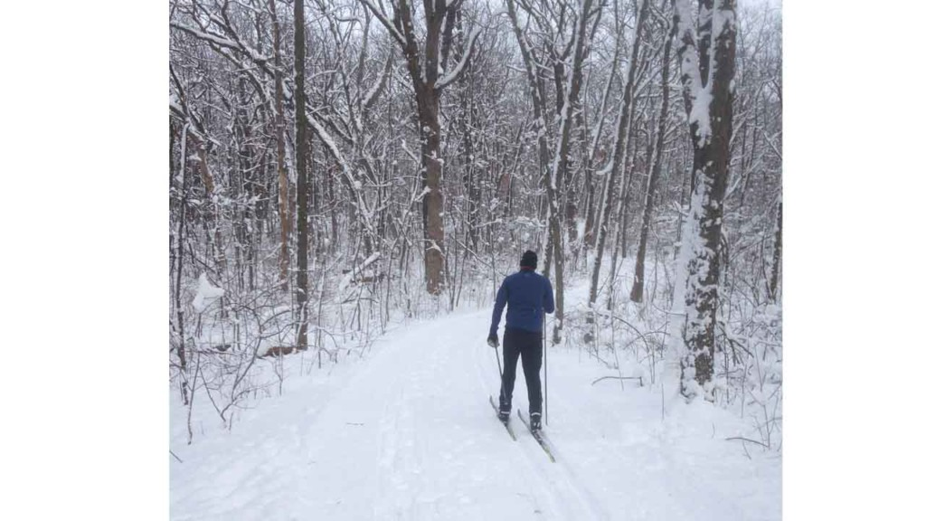 Snowmobile trail a stick in the eyes of silent sports users