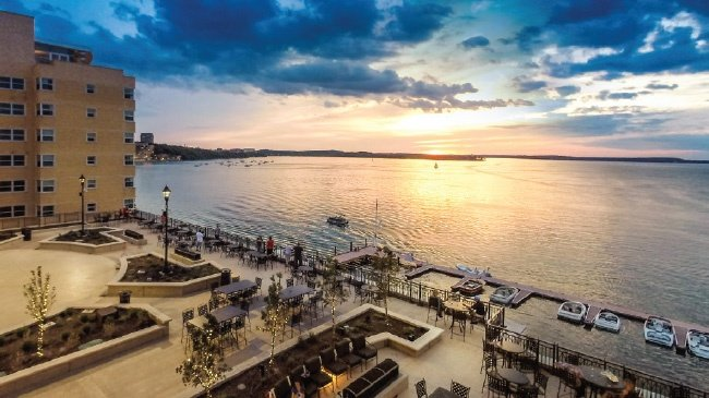 The Edgewater named one of top hotels in the Midwest