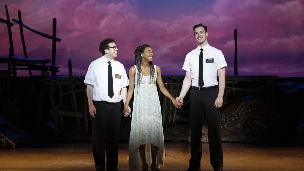 12 events this weekend, including two live podcasts, 'The Book of Mormon'