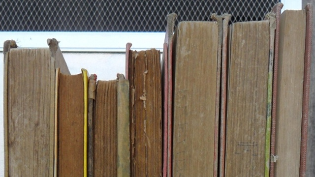 Man finds his stolen books at used bookstore