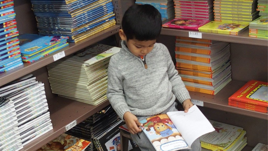 Bookseller gets affordable books into children's hands