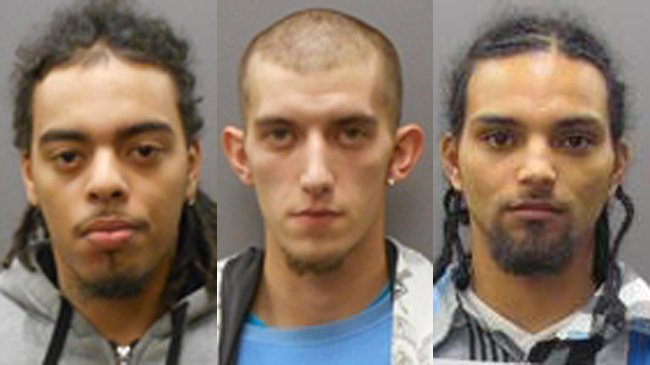3 arrested in drug case involving heroin, cocaine, THC, police say