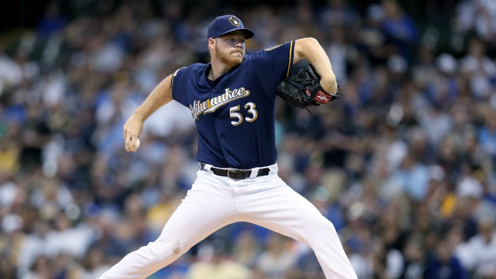Brewers release National League Wild Card game lineup