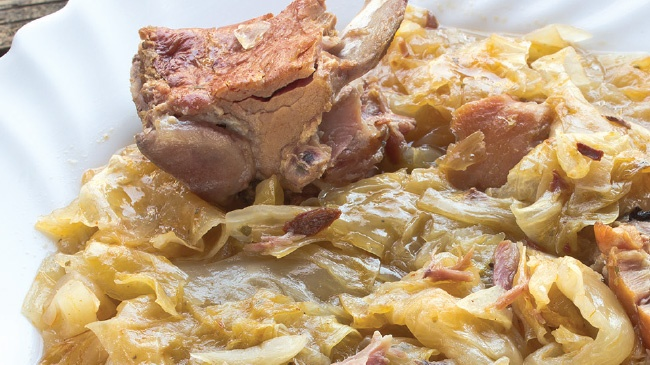 A sauerkraut recipe with a symphony of flavors