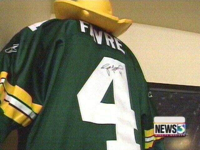 Packers to retire Brett Favre's No. 4 jersey