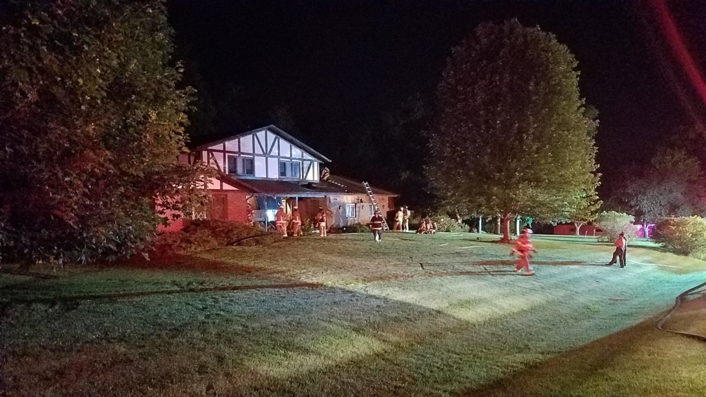 Town of Bristol family loses home in overnight fire