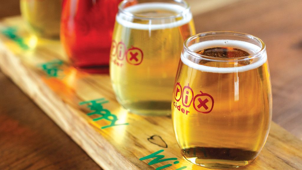 Brix Cider makes an impressive debut with strong cider and food offerings