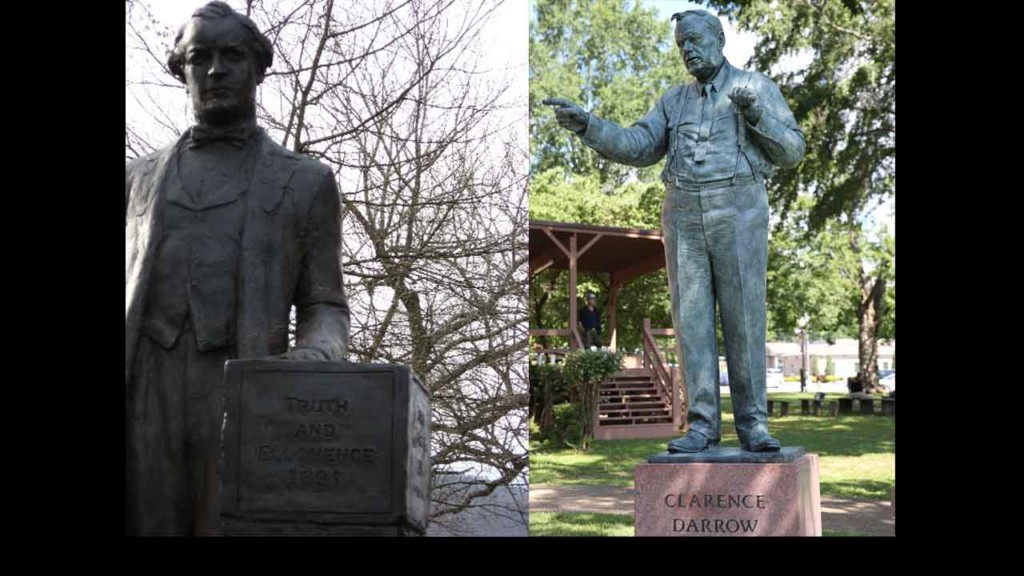 Madison group erects Darrow statue in Tennessee